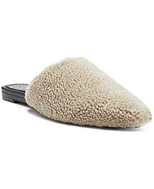 Women's Vameera Faux-Shearling Slippers