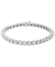 Diamond Tennis Bracelet (3 ct. t.w.) in 14k White Gold