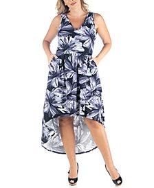 Women's Plus Size High Low Dress
