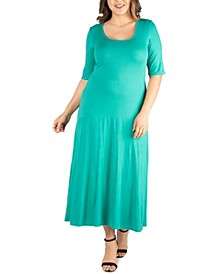 Women's Plus Size Maxi Dress