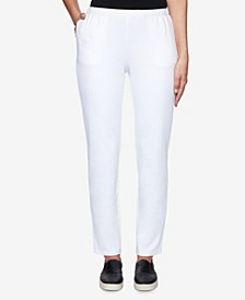 Women's Missy French Terry Pants