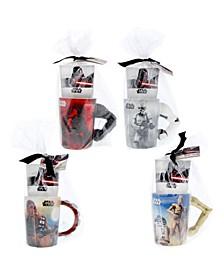 Mug Set with Hot Cocoa Mix - Set of 4