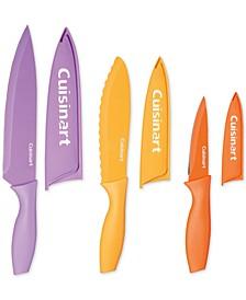 6-Pc. Ceramic-Coated Cutlery Set