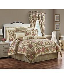 Amalia 4 Piece Comforter Set, Queen