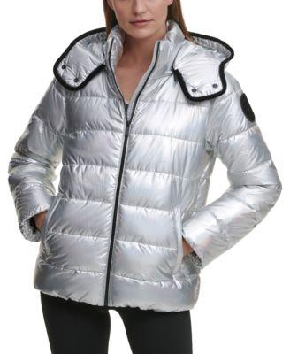 Water-Resistant Puffer Jacket