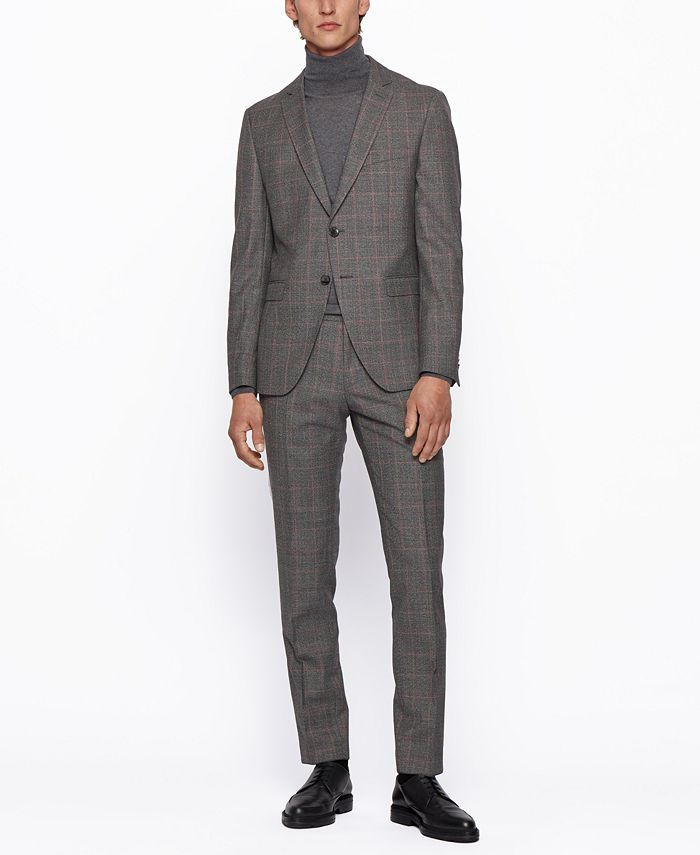 Hugo Boss - Men's Reymond/Wenten Extra-Slim-Fit Suit