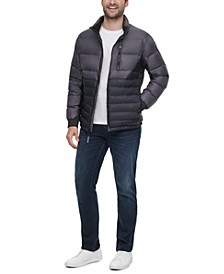 Men's Slim Fit Seamless Down Puffer Jacket