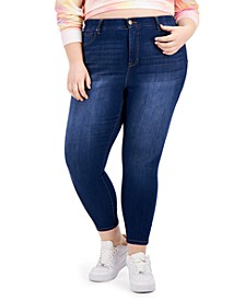 Trendy Plus Size Sienna Tummy-Control Skinny Jeans