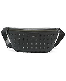 Styla Studded Leather Sling Bag
