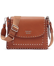 Pauline Flap Leather Crossbody