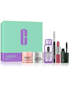 Receive a Free 6-PC GWP with any $31 Clinique purchase! (A $77 value!)