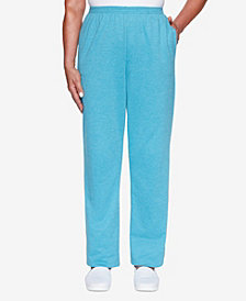 Women's Plus Size Long Weekend French Terry Proportioned Pant
