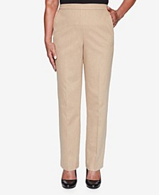 Women's Plus Size Glacier Lake Peach Sateen Proportioned Pant