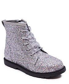 Toddler Girls Glitter Side Zipper Bootie
