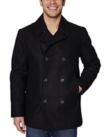 Men's Big and Tall Peacoat Jacket