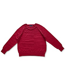 Crewneck Cotton Sweater, Created for Macy's