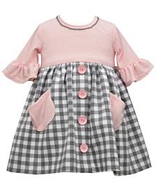Baby Girls Knit Babydoll Dress