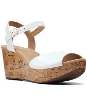 Clarks Annadel Mystic Wedge Sandals Women s Shoes E595