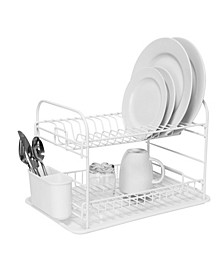 Convertible 2 Tier Dish Rack