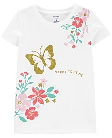 Big Girls Butterfly Tee