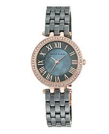 Gray Ceramic Bracelet Watch 30mm