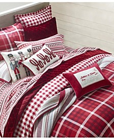 Wyoming Plaid Bedding Collection, Created for Macys