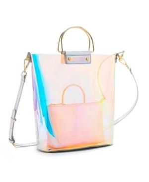 Hologram Ring Handle Tote Bag