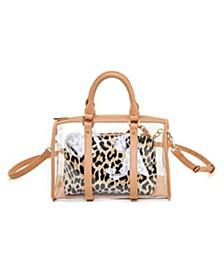 Clear Handle Handbag