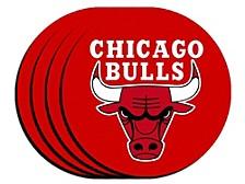 Chicago Bulls 4-Pack Neoprene Coaster Set
