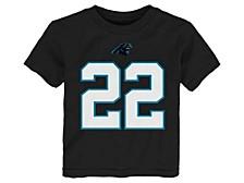 Carolina Panthers Toddler Mainliner Player T-Shirt Christian McCaffrey
