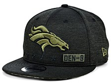 Denver Broncos 2020 On-field Salute To Service 9FIFTY Cap