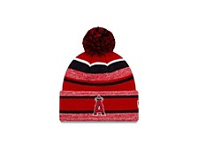 Los Angeles Angels Striped Marled Knit
