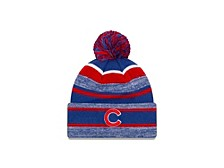 Chicago Cubs Striped Marled Knit
