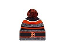 Detroit Tigers Striped Marled Knit