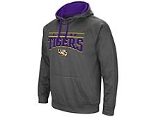 LSU Tigers Men's Poly Performance Hooded Sweatshirt