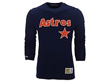 Houston Astros Men's Slub Long Sleeve T-Shirt