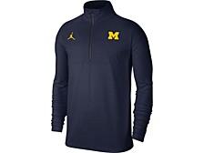 Michigan Wolverines Men's Coaches Half-Zip Pullover