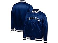 New York Yankees Toddler Colorblocked Satin Jacket