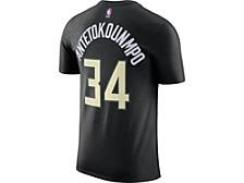 Milwaukee Bucks Giannis Antetokounmpo Men's Statement Player T-Shirt