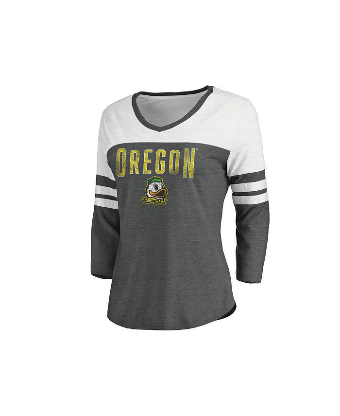 Majestic - Oregon Ducks Women's True Classics Raglan Shirt