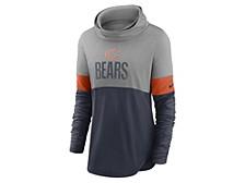 Chicago Bears Women's Cowl Neck Long Sleeve Shirt