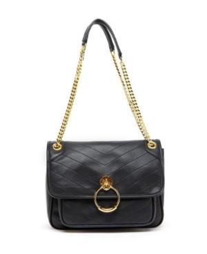 Chevron Print Handbag