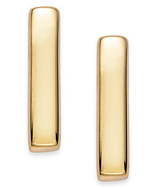 Giani Bernini 18k Gold over Sterling Silver Bar Stud Earrings