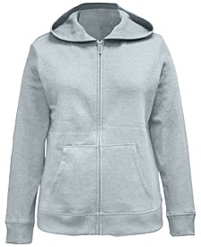 Zip-Front Hooded Sweatshirt, Created for Macy's
