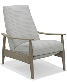 Charlett Fabric Pushback Recliner, Created for Macy's