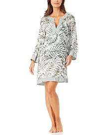 Palm Breeze Tunic Cover-Up