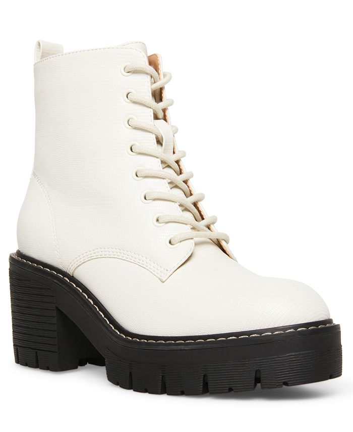 Madden Girl - Acerr Lace-Up Lug Combat Boots