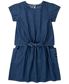 Big Girls Chambray Dress