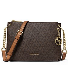 Lillie Large Signature Messenger Bag