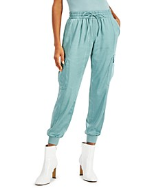 INC Petite Utility Jogger Pants, Created for Macy's